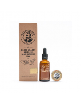 Captain Fawcett Booze & Baccy Gift Set