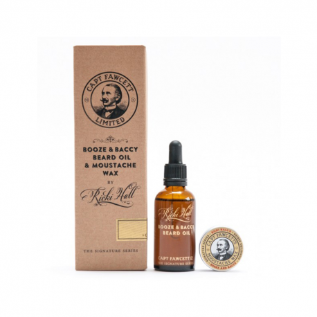 CAPTAIN FAWCETT'S Gift Set Ricki Hall Booze & Baccy