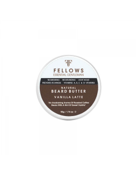 Baume pour Barbe Vanilla Latte Beard Butter 50gr Fellows Essential Gentleman