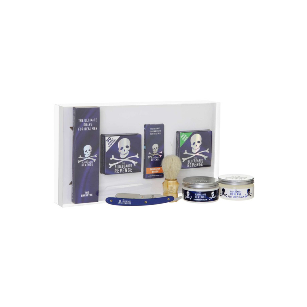 coffret de rasage shavette the bluebeards revenge. Black Bedroom Furniture Sets. Home Design Ideas
