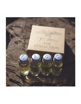 Coffret 4 Huiles à Barbe The Collection First Olympian (10ml)