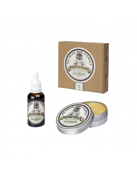 Coffret Cadeau Huile et Baume Barbe Wilderness Mr Bear Family