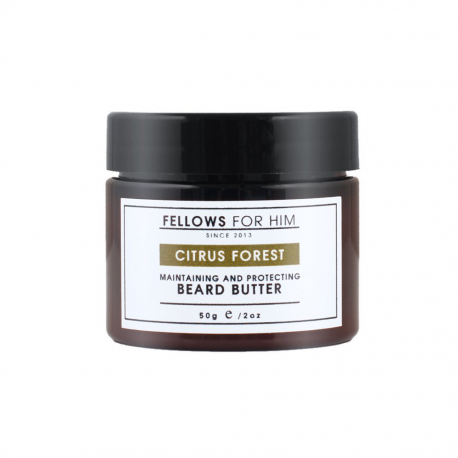 Baume pour Barbe Citrus Forest Beard Butter 50gr Fellows Essential Gentleman