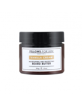 Baume pour Barbe Vanilla Cream Beard Butter (50gr) Fellows Essential Gentleman
