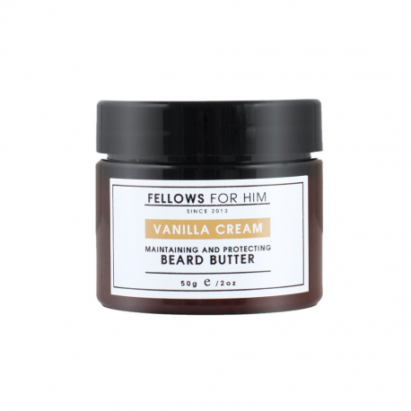 Baume pour Barbe Sweet Vanilla Beard Butter 50gr Fellows Essential Gentleman