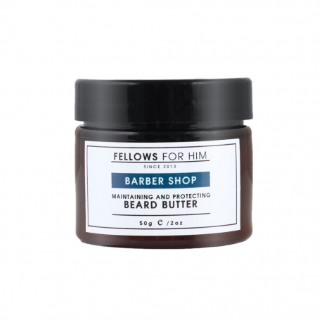 Baume pour Barbe Barber Shop Beard Butter 50gr Fellows Essential Gentleman