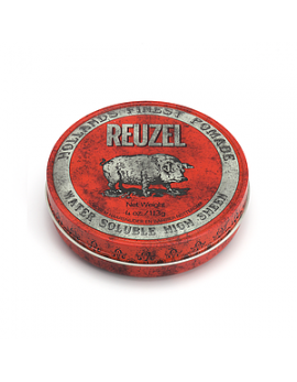 Pomade Cheveux Reuzel Red (113g) Haute Brillance