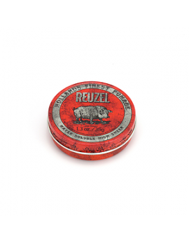Pomade Cheveux Reuzel Red - Water Soluble High Sheen - Piglet 35 Gr