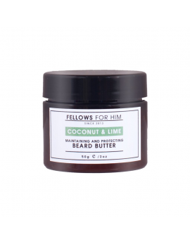 Baume pour Barbe Coconut & Lime Beard Butter (50gr) Fellows Essential Gentleman