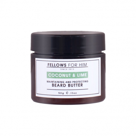 Baume pour Barbe Coconut & Lime Beard Butter 50gr Fellows Essential Gentleman