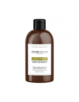 Shampoing Barbe Citrus Forest (250ml) Fellows Essential Gentleman
