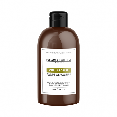 Shampoing Barbe Citrus Forest 250ml Fellows Essential Gentleman