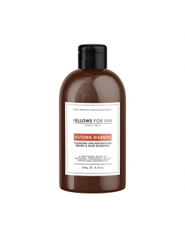 Shampoing Barbe Autumn Warmth (250ml) Fellows Essential Gentleman