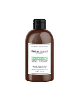 Shampoing Barbe Coconut & Lime (250ml) Fellows Essential Gentleman