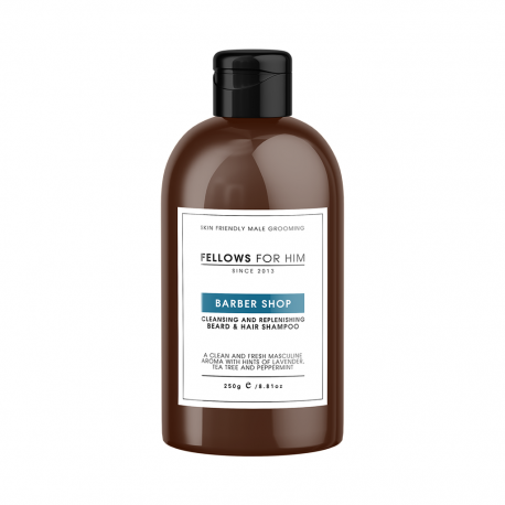 Shampoing Barbe Barber Shop (250ml) Fellows Essential Gentleman